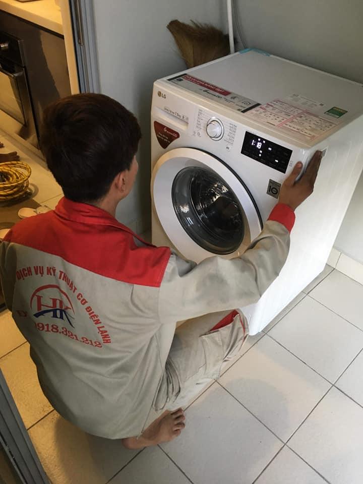 dịch vụ sửa máy giặt của điện lạnh hk