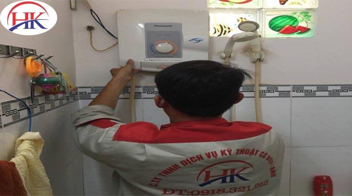 Dịch vụ sửa máy nước nóng chuyên nghiệp - Điện Lạnh HK